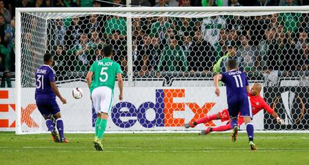 St Etienne v  Anderlecht  - UEFA Europa League Group Stage - Group C