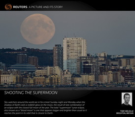 A Picture And Its Story: Shooting The Supermoon
