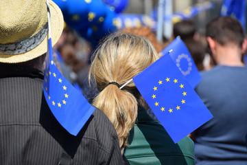 Kundgebung für Europa