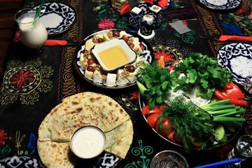 Uzbek snacks