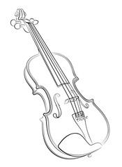 violin Sketch.