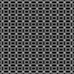 Seamless geometric background in black and white