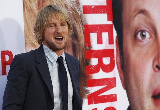 """Cast member Wilson poses at the premiere of """"The Internship"""" in Los Angeles"""