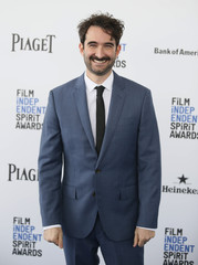 Actor Jay Duplass arrives at the 31st Independent Spirit Awards in Santa Monica