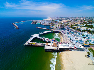 Redondo Beach Pier, Ca (Aerial Photo)