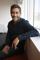 Actor Jake Gyllenhaal, who is nominated for a Golden Globe award, poses for a portrait in Hollywood,