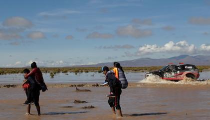 Dakar Rally - 2017 Paraguay-Bolivia-Argentina Dakar rally - 39th Dakar Edition - Eighth stage from Uyuni, Bolivia to Salta, Argentina