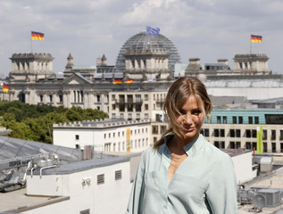 "US actress Diaz poses to promote her new film ""Bad Teacher"" in Berlin"