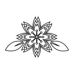sakura flowers. traditional symbol of spring in japan. vector illustration