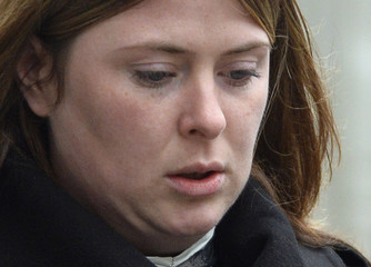 Rebecca Rigby, widow of murdered British soldier Lee Rigby returns to the Old Bailey in London