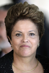 Brazil's President Dilma Rousseff attends the Summit of Heads of State of Mercosur and Associated States and the 44th Meeting of the Common Market Council in Brasilia