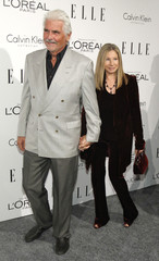 Actress-singer Streisand and her husband Brolin arrive at Elle's 18th Annual Women in Hollywood Tribute in Los Angeles