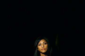 Actress Reshma Shetty attends the Cynthia Steffe Fall/Winter 2011 collection show during New York Fashion Week