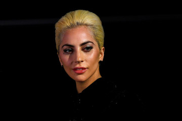 Musician Lady Gaga arrives to promote her new album 'Joanne' in London