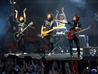 Members of Malaysian rock band Bunkface perform during the MTV World Stage Live in Malaysia 2010 concert in Petaling Jaya