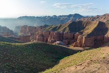 Foto op Canvas Canyon sights of Kazakhstan,