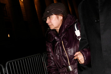 Art dealer Glafira Rosales leaves the Manhattan Federal Courthouse in New York