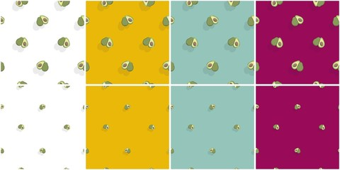 AVOCADOS PATTERNS.