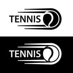 tennis ball motion line symbol