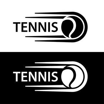 tennis ball motion line symbol