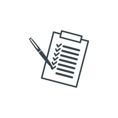 Document icon stock vector