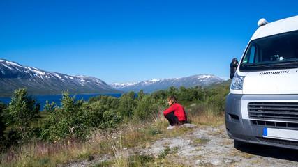 mit dem Wohnmobil durch Norwegen - staunen und geniessen...