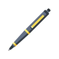Pen icon. Flat design graphic illustration. Vector pen icon