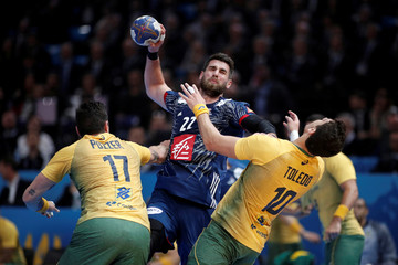 Men's Handball - France v Brazil - 2017 Men's World Championship Main Round - Group A