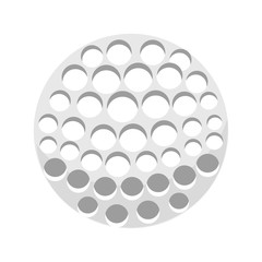 golf sport ball icon vector illustration design