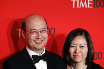 Economist Andrew Lo arrives to be honored at the Time 100 Gala in New York
