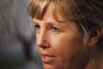 Ramona Brandes, the attorney representing shooting suspect Aaron Ybarra, speaks to the media in Seattle