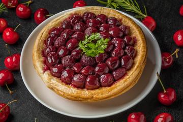 チェリーパイ  Pie of the American cherry