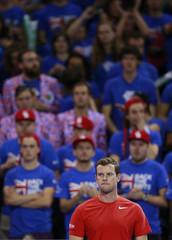 Great Britain v Australia - Davis Cup Semi Final