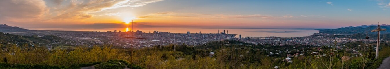 Batumi Sunset Panorama IV