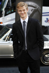 "Cast member Lucas Till arrives at the premiere of ""X-Men: First Class"" in New York City"