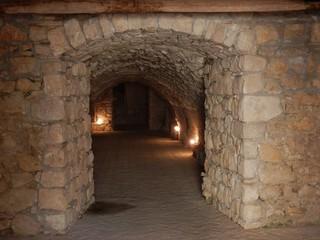 Fototapeta Goleto - Accesso al cimitero delle monache