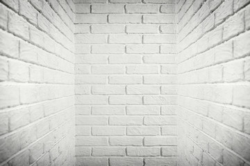 white brick wall, abstract background photo
