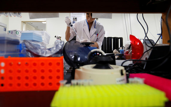 Assistant works at the Bioresource Research Center of Tokyo Medical and Dental University in Tokyo