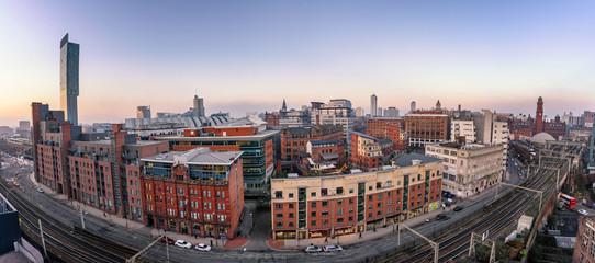 Manchester Skyline England