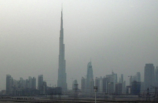A general view of the Dubai skyline