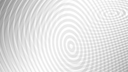 Background with geometric halftone design