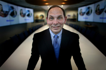 Procter & Gamble CEO McDonald poses at his company's office in Singapore