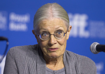 "Actress Vanessa Redgrave attends a news conference to promote the film ""Foxcatcher"" at the Toronto International Film Festival (TIFF) in Toronto."