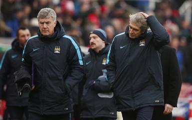 Stoke City v Manchester City - Barclays Premier League