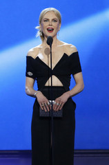 Nicole Kidman presents the award for best actor at the 22nd Annual Critics' Choice Awards in Santa Monica