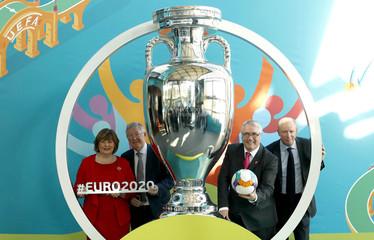 UEFA Euro 2020 Glasgow Logo Launch