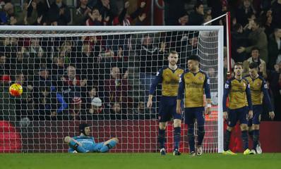 Southampton v Arsenal - Barclays Premier League