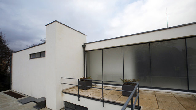 The Tugendhat villa is seen during its presentation to the media in Brno