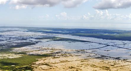 Cambodia aerial view