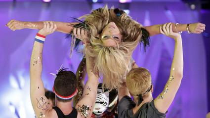 U.S. singer Ke$ha performs at the 2010 MuchMusic Video Awards in Toronto